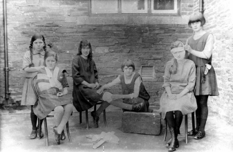1927 First Aid Class