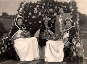 Carnival Queen C Barribal 1950