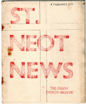 St Neot News Feb 1961
