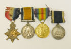 Great War Medals of A F Davis (John O'Neill's G Dad)