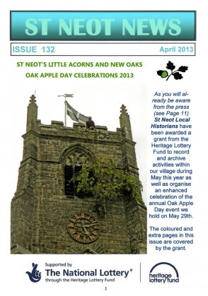St Neot News April 2013