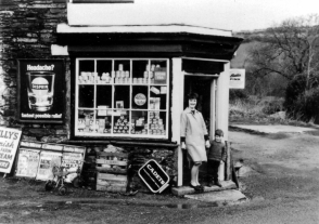 Old Shop by St Neot Bridge 1960's